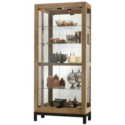 Quinn Standard Curio Cabinet Finish: Natural Finish