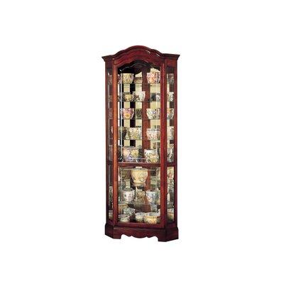 Jamestown Corner Curio Cabinet