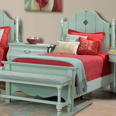 Buy low price twin adirondack bed in ocean blue hw3578 Adirondack bed frame