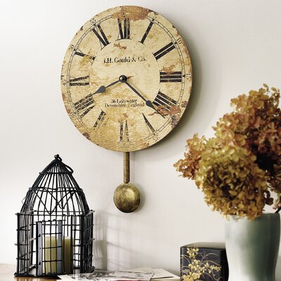 J H Gould and Co II Wall Clock