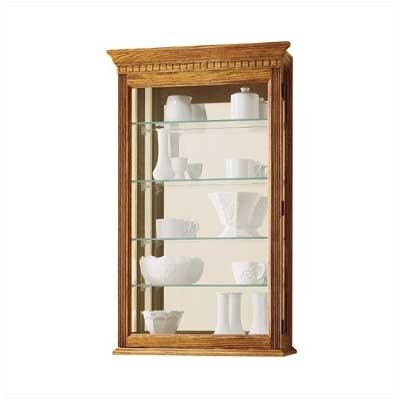 Montreal Wall-Mounted Curio Cabinet