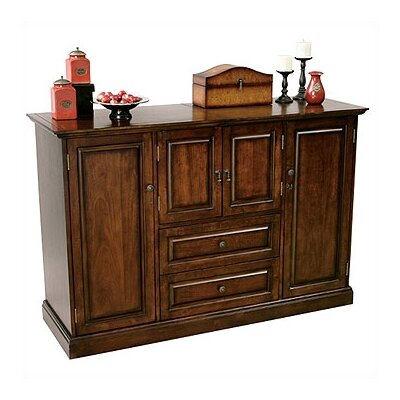 (bar) Hide - A - Bar Devino Console In Americana Cherry