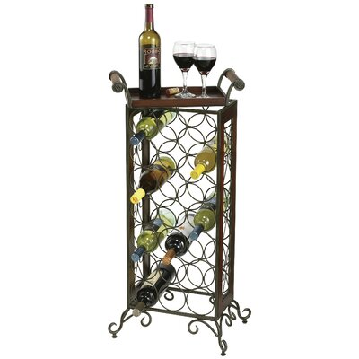 Butler 21 Bottle Floor Wine Rack