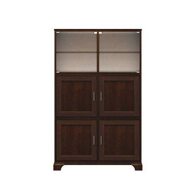 Ava Personal Armoire Cabinet Finish Antique Black Hardware Finish Antique Brass