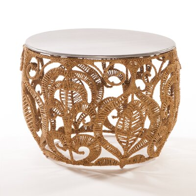 Rope Lace End Table