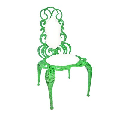 Alice Side Chair Finish: Green