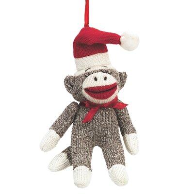 Specialty Sock Monkey Santa Ornament THDA3989 42460473