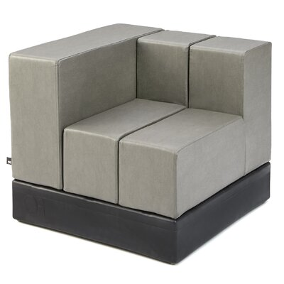 Cellular? Arm Two Back Cell Modular Sectional Upholstery: Jessamy Fun Cover