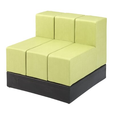 Cellular? Three Back Cell Modular Sectional Upholstery: Flan Fun Cover