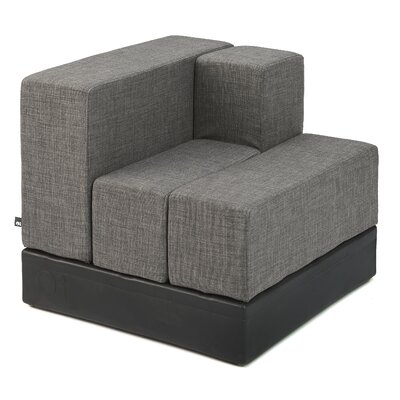 Cellular Modular Sectional Upholstery: Dark Grey