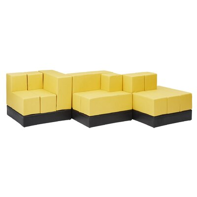 Cellular?  Sectional Upholstery: Fucia