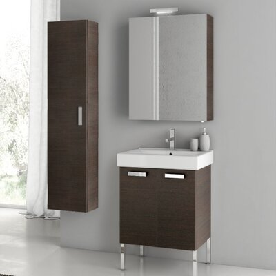 Cubical 24 Single Bathroom Vanity Set