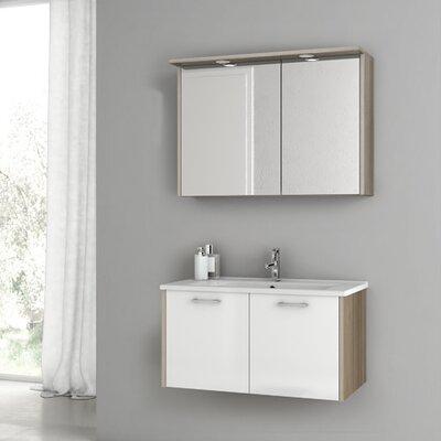 New Space 32.7 Single Bathroom Vanity Set