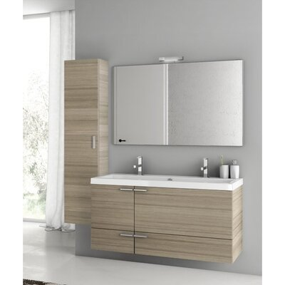 New Space 47 Double Bathroom Vanity Set