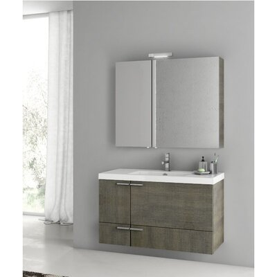 New Space 39 Single Bathroom Vanity Set