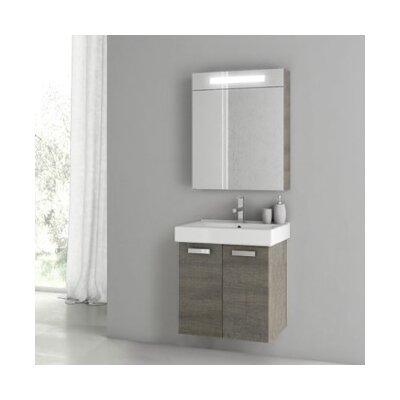 Cubical 2 41 Single Bathroom Vanity Set with Mirror