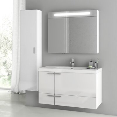 New Space 47 Single Bathroom Vanity Set