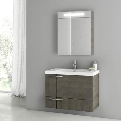 New Space 24 Single Bathroom Vanity Set