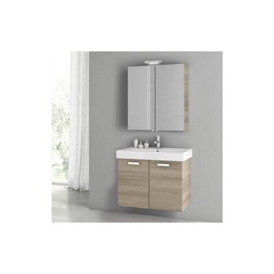 Cubical 2 30 Single Bathroom Vanity Set Base Finish: Larch Canapa