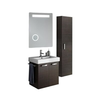 Cubical 24 Single Bathroom Vanity Set Base Finish: Larch Canapa