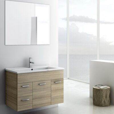 Loren Bathroom Vanity Set Base Finish: Larch Canapa