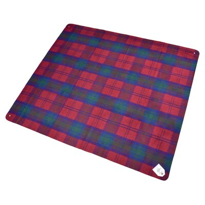Billabong Waterproof Outdoor Picnic Blanket with Rubber Back Color: Royal Stewart