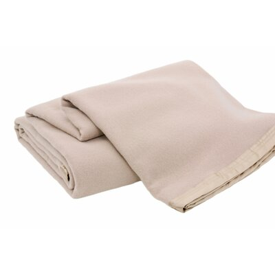 Luxurious All-Natural  100% Australian Merino Wool Blanket Color: Sahara, Size: Full / Queen