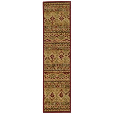 Bucknell Tribal Ikat Brown Area Rug