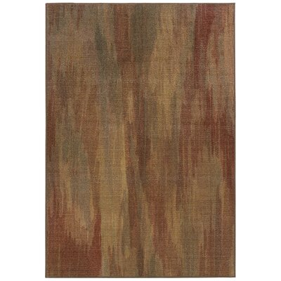 Roberts Muted Impressions Brown Area Rug