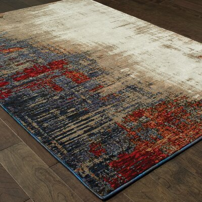 Knox Ivory Area Rug Rug Size: Rectangle 67 x 96