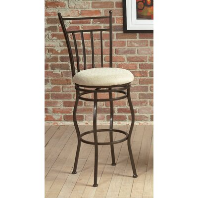 Eliza Swivel Bar Stool Seat Height: 30
