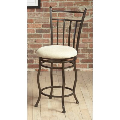 Eliza Swivel Bar Stool Seat Height: 24