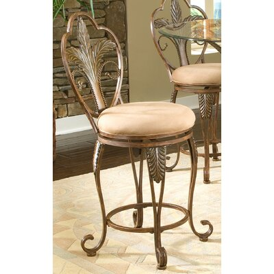 Pina Swivel Bar Stool Seat Height: 24
