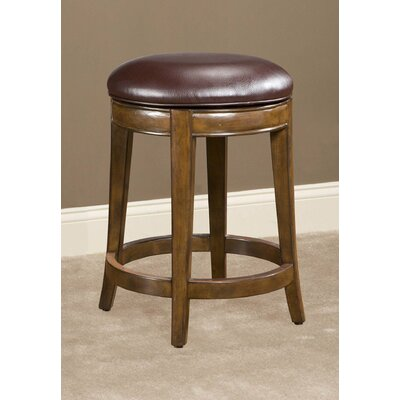 Trevor Swivel Bar Stool Seat Height: 24