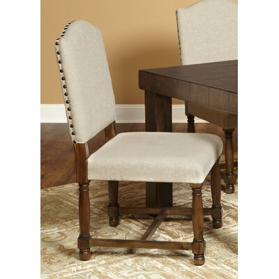 Burnsfield Upholstered Top Side Chair (Set of 2)