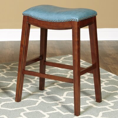 Fiesta 24 Bar Stool Upholstery: Sky Blue