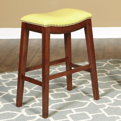 Fiesta 30 Bar Stool Upholstery: Yellow