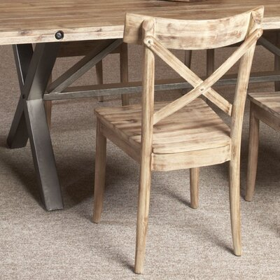 Reatha Solid Wood Dining Chair (Set of 2)