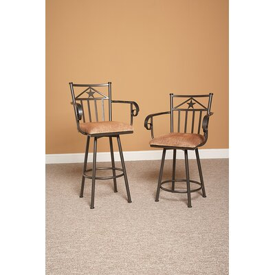 Lancaster 24 Swivel Bar Stool