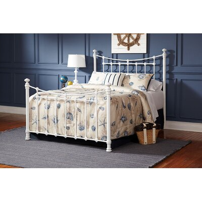 Worchester Open-Frame Headboard and Footboard Size: King