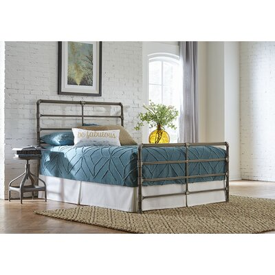 Emmaline Open-Frame Headboard and Footboard Size: Queen