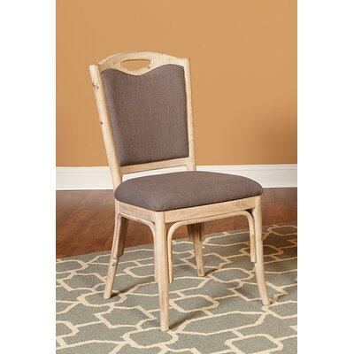 Reatha Upholstered Fabric Dining Chair (Set of 2)