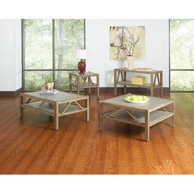 Maryland 3 Piece Wood Frame Coffee Table Set