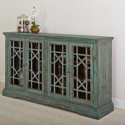 Winslow Eclectic 4 Door Wood Sideboard