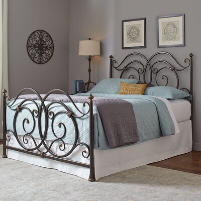 Ellenboro Open-Frame Headboard and Footboard Size: Queen