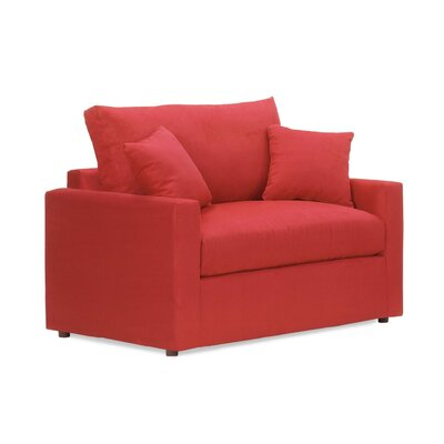 Overnight Sofa Obsessions Sleeper Sofa with Memory Foam Mattress - Upholstery Color: Java