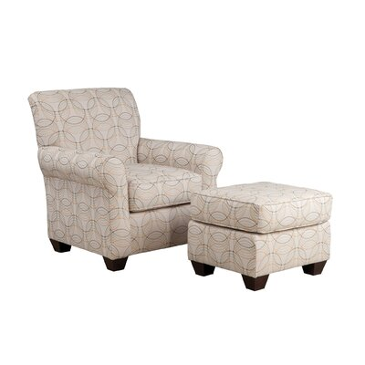 Accent Armchair Body Fabric: Archer Domino