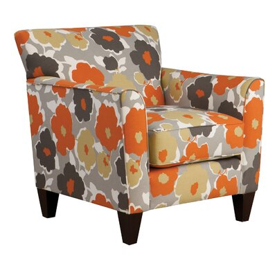 Rogue Armchair Body Fabric: Sealife Coral