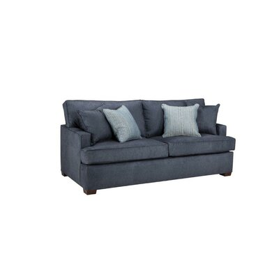 Oatfield Sleeper Sofa Body Fabric: Denim Sand, Mattress Type: Memory Foam, Size: Full