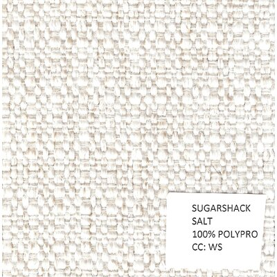Chaitanya Queen Sugar Shack Sleeper Sofa Upholstery: Salt, Mattress Type: Memory Foam